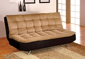 Mancora Futon Sofa- Red or Tan