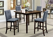5 Pcs Charlene Counter Height Dining Set