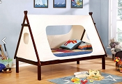 Twin Teepee Tent Bed