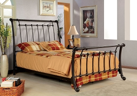 Lourdes Metal Bed Frame