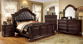 Luxurious English Style Bed Frame