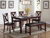 6 Pcs Dining Table Set