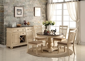 Circle Elegant 5-piece Formal Dining