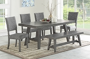 6 Pcs Dining Set