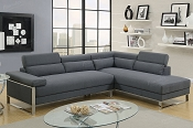 2 Pcs Modern Sectional- color option