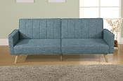 Blue Grey Adjustable Sofa