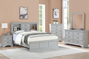 Bookcase Bed Frame- color option