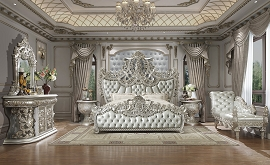 Luxury Platinum King Bed Frame