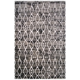 Grey and White Cancun Area Rug