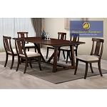 ANGEL TRANSITIONAL 7pcs DINING SET