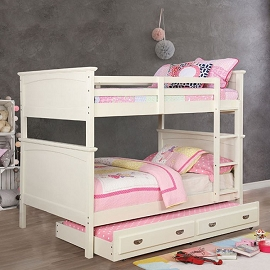 Marci Full over Full Bunk Bed- white or black
