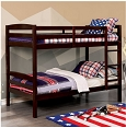 Elaine Twin/Twin Bunk Bed- espresso or white