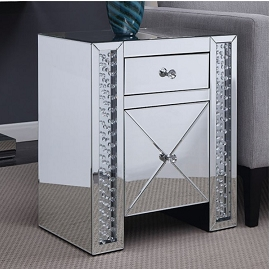 Arel Mirror Side Table