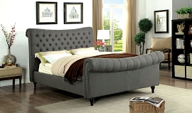 Galene Bed Frame- Grey or Beige