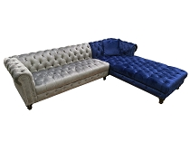 Tufted Sectional- Any color