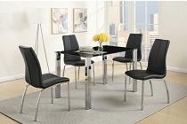 5-Pcs Modern Dining Set