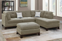 3-PC Slate color SECTIONAL