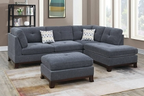 3-PC Ash Grey Sectional (ETA in 10 days of	2020-11-23 )