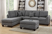 2 Pc Sectional - Color Option