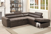 2 Pcs Convertible Sectional - color Option