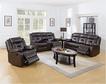 2 PC Sofa and Love Seat (Dark Brown or Grey)