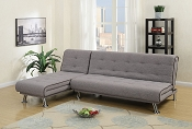 2-Pc Adjustable Sofa & Chaise Set