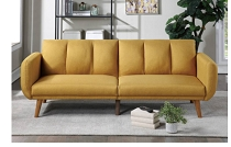 Mustard Futon Sofa bed