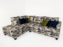 Graffiti Print Sectional