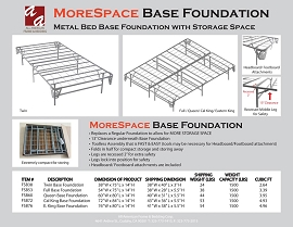 More Space Bed Frames