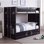 Estonne Twin/ Twin Bunk Bed W/ Trundle