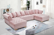 EZ Pink Sectional