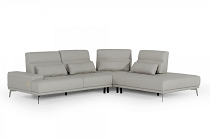 Accenti Italia Portofino RAF Chaise Leather Sectional