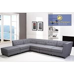 R168 Modern Sectional 6 Pcs Sectional