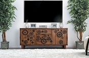 AMARANTHA- Dark Oak TV Stand