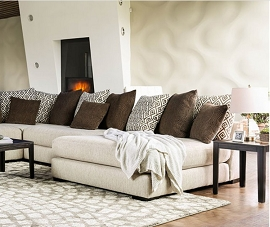 Coffee and Creamer Giulianna Sectional