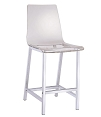 Acrylic Clear Counter Height Stool
