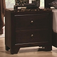 Corner Nightstand with Faux Marble Top