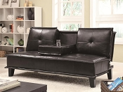 Black Contemporary Futon