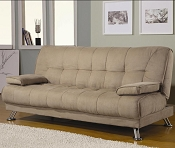 Contemporary Tan Futon