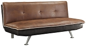Contemporary Brown Sofa Bed