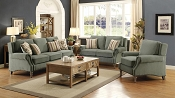 Rosenberg Light Sage Living Room Sofa - Desert Green