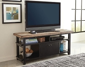 Wylder TV Rustic Two-Tone TV Stand