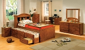 Wooden Captain Bed