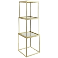 Three Piece Brass Etagere By Donny Osmond Home