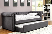 Linen Twin Day Bed -color option