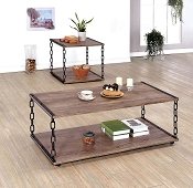 Chain Link Design Coffee Table
