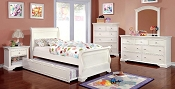 White Slay Bed Frame