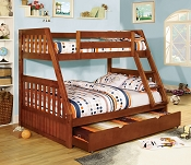 Canberra Twin/ Full Bunk Bed