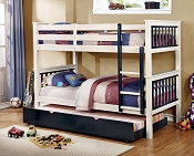 Twin/Twin Bunk Bed-color option