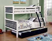 Twin/Full Bunk Bed-Color option